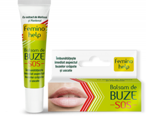 balsam de buze zdrovit feminohelp