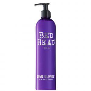 sampon pentru par blond tigi bed head dumb blonde purple toning