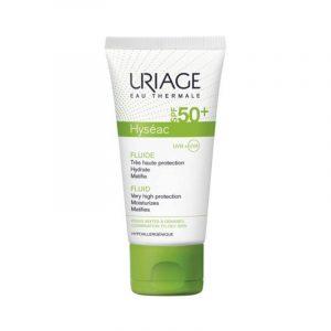 Fluid SPF 50 Hyseac, 50 ml, Uriage