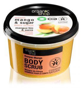 exfoliant corp Organic Shop Body Scrub Mango & Sugar