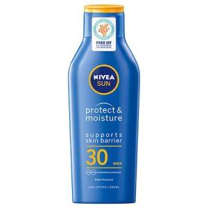 Lotiune cu protectie solara Nivea Sun Protect & Moisture SPF 30