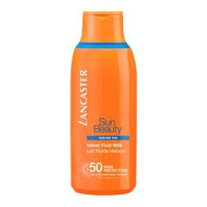 Lotiune cu protectie solara Lancaster, Sun Beauty Velvet Fluid Milk SPF50