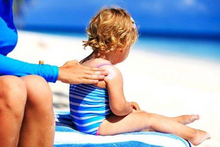 cele mai bune creme cu protectie solara pentru copii