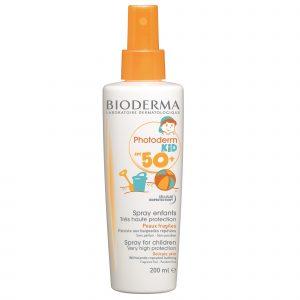 Spray protecție solară pentru copii Photoderm KID SPF 50+ bioderma