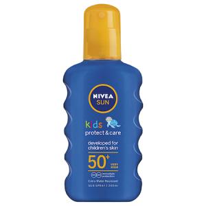 Spray cu protectie solara Nivea Sun Kids Protect & Care SPF 50+