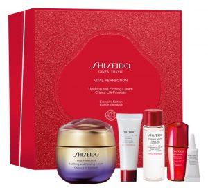 set ingrijire ten Shiseido Vital Perfection Uplifting & Firming Cream