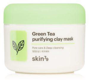 Skin79 Green Tea mască de peeling pentru curățarea profundă cu argila